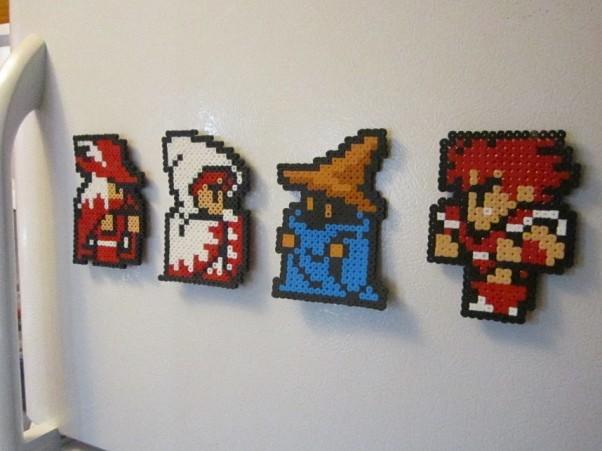 Final Fantasy pixel magents