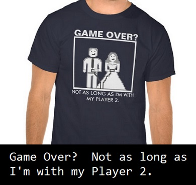 Game over geek Tshirt