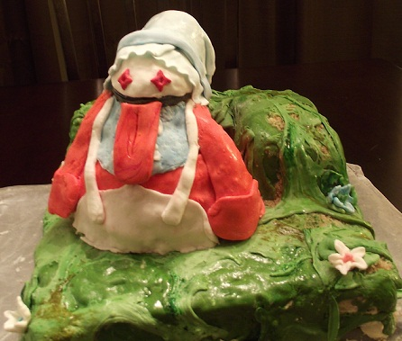 Quina Final Fantasy IX cake design