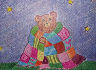 Bear in Quilt