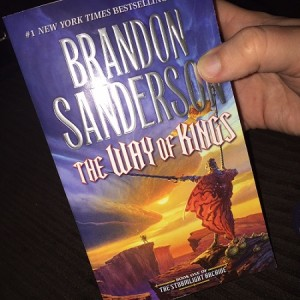 The Way of Kings Brandon Sanderson Softcover book