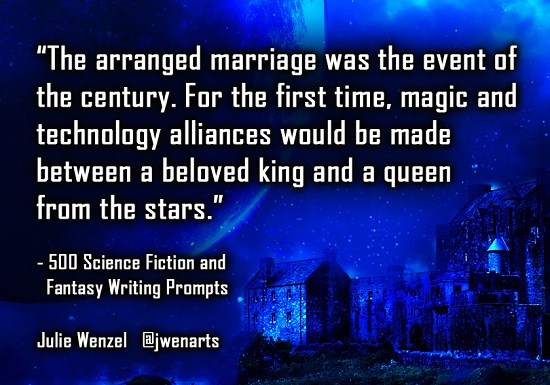 science fiction fantasy writing prompts julie wenzel