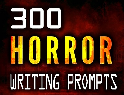 300 Horror Writing Prompts Cover Reveal and Release Timeline